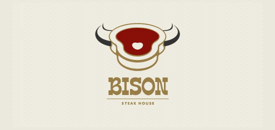 Restaurant-Logos-Bison-Steakhouse