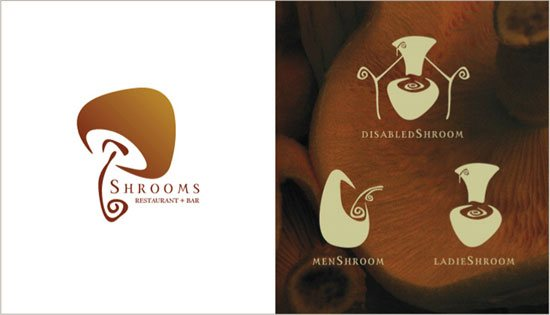 logodesignlondon-Mushrooms-restaurant-bar