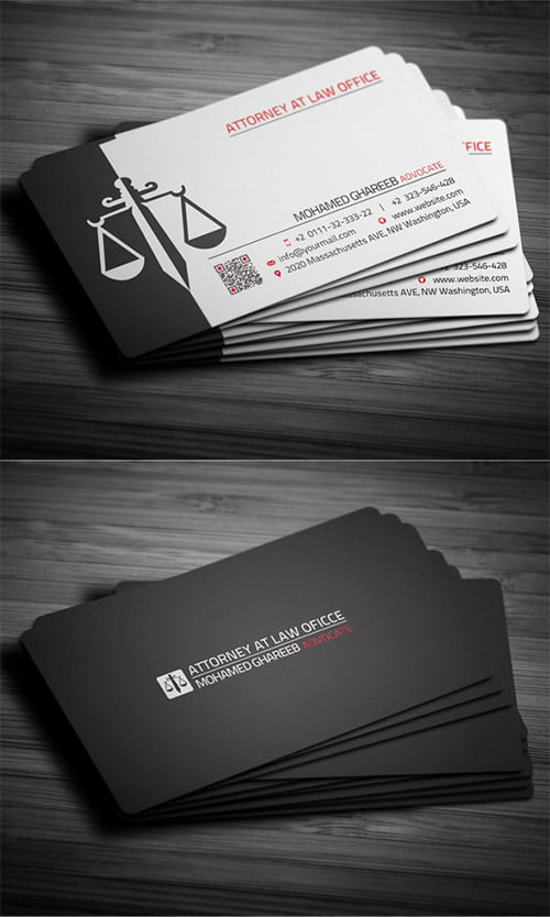 23-black-attorney-business-card