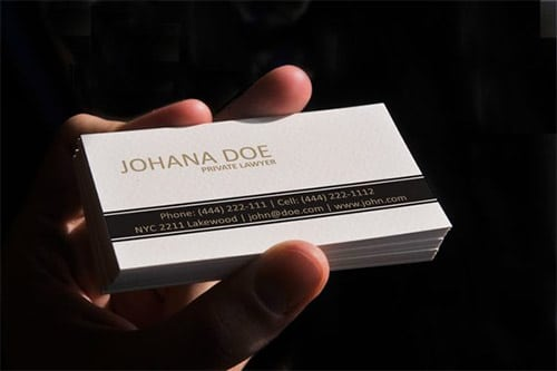 7-clean-lawyer-business-card