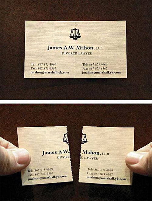 8-divorce-layer-business-card