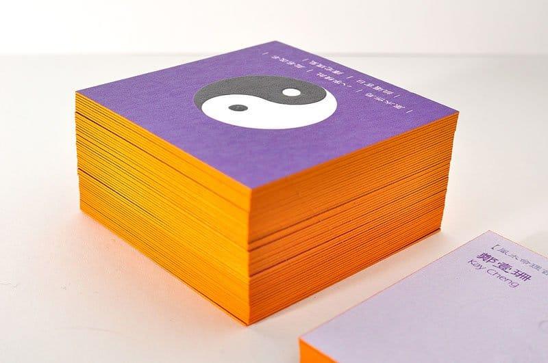 日本進口紙名片設計