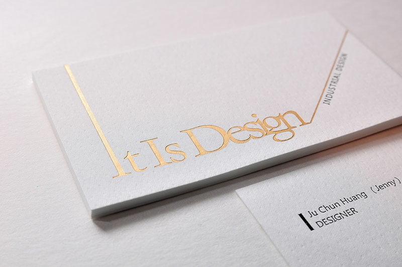 名片設計紙材應用