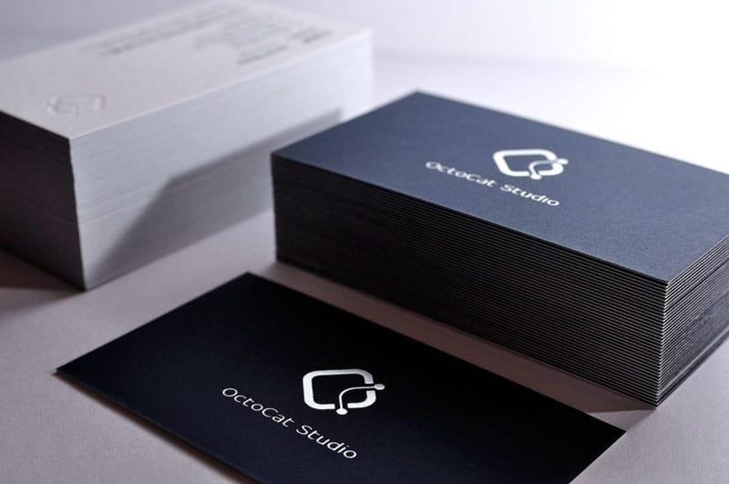 Octocat 簡約高質感名片設計