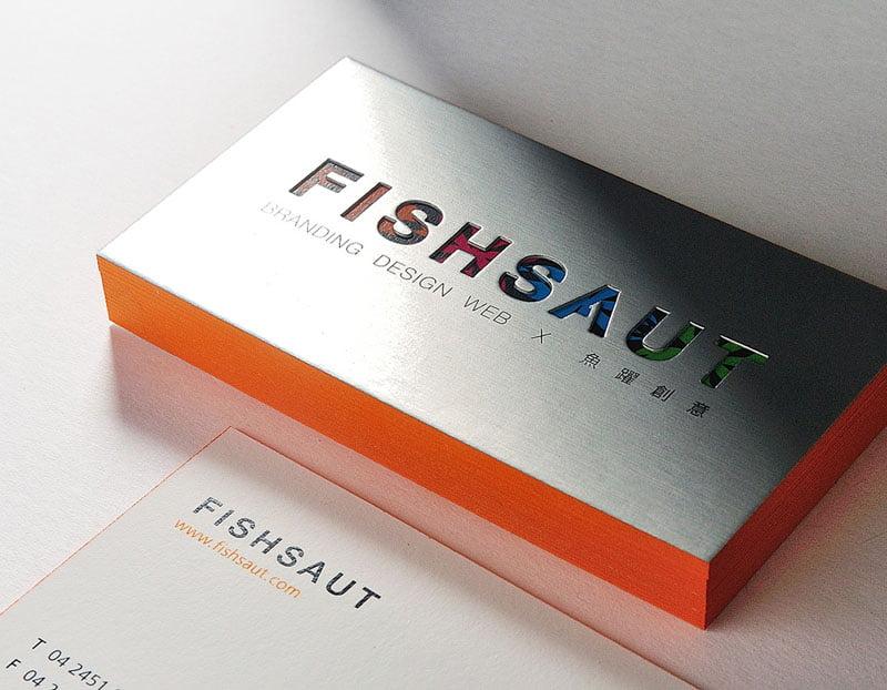 魚躍創意名片設計