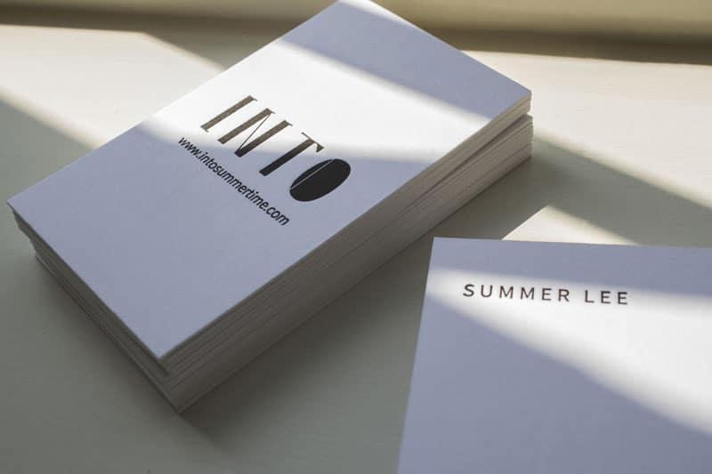 德國純棉紙-名片設計
