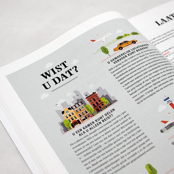 日系旅遊手冊,型錄設計