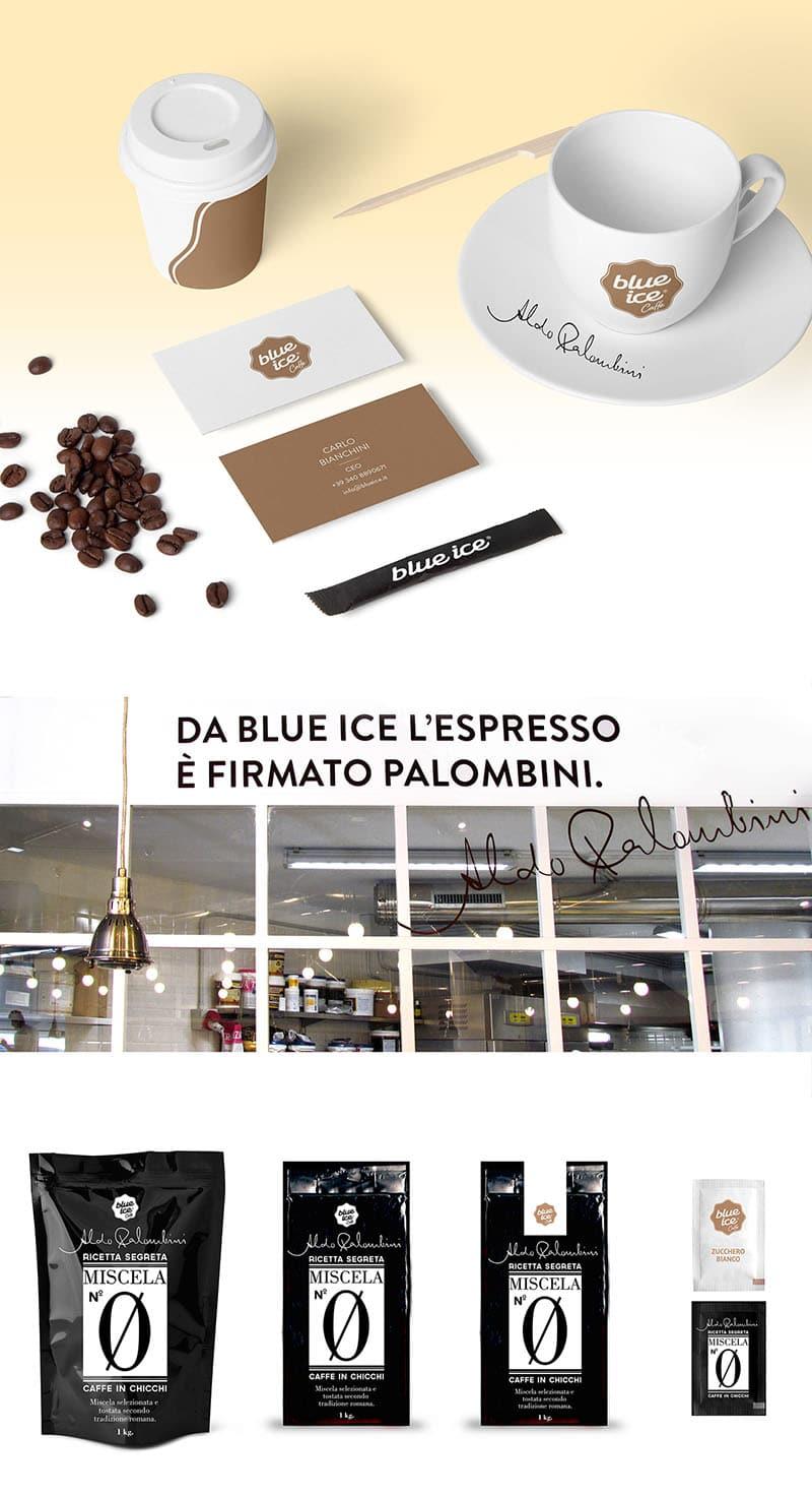 冰淇淋連鎖加盟店、品牌重塑—整體企業識別 LOGO 設計、名片設計推薦