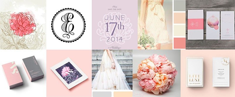 婚禮工作室、婚紗攝影、新娘秘書、活動派對 LOGO 設計