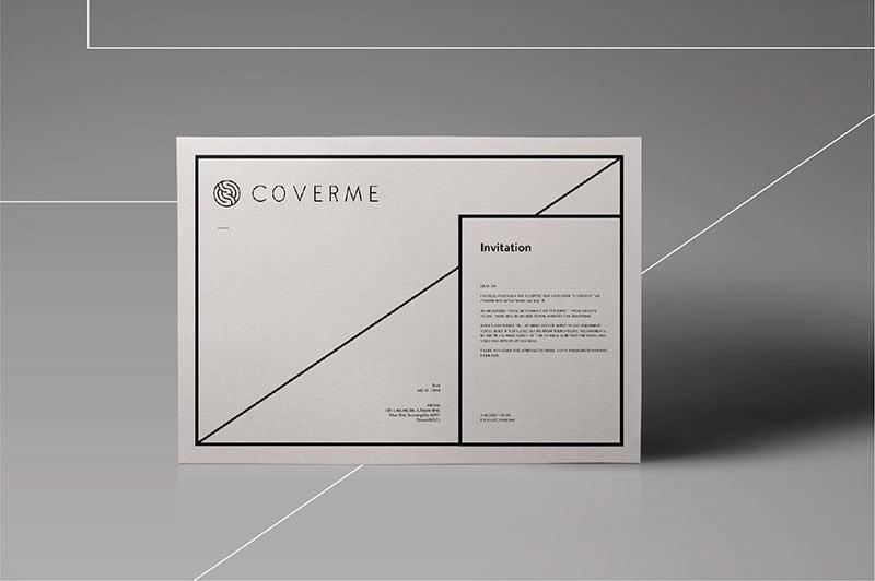 COVERME Logo商標設計推薦