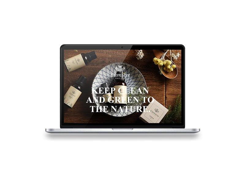 茶樹精油網頁設計