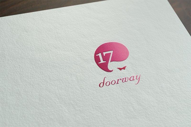 DoorWay朵葳模特兒經紀公司 Logo 設計