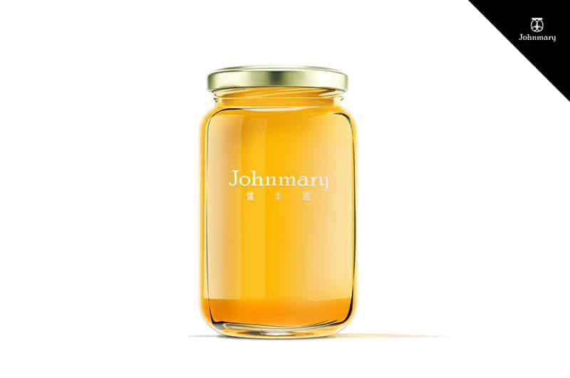 醬美麗 Johnmary Logo包裝設計