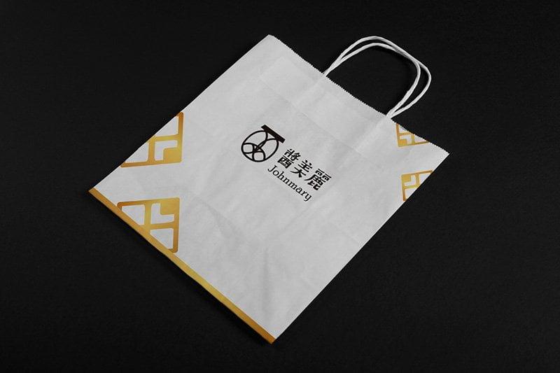 醬美麗 Johnmary紙袋設計