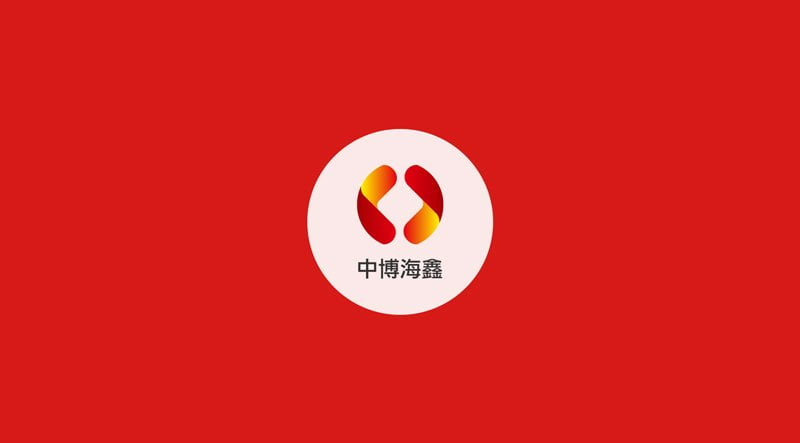 中博海鑫Logo設計